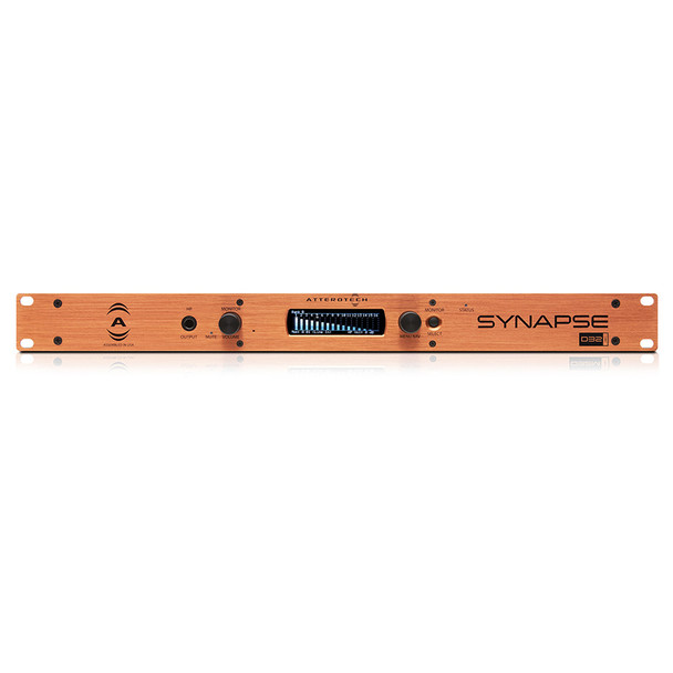 QSC D32i 32 Channel Line In Dante/AES67 Interface, 1RU   Front