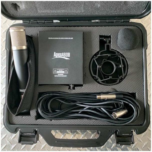 Apex-460b-tube-condenser-mic-case-kit-view
