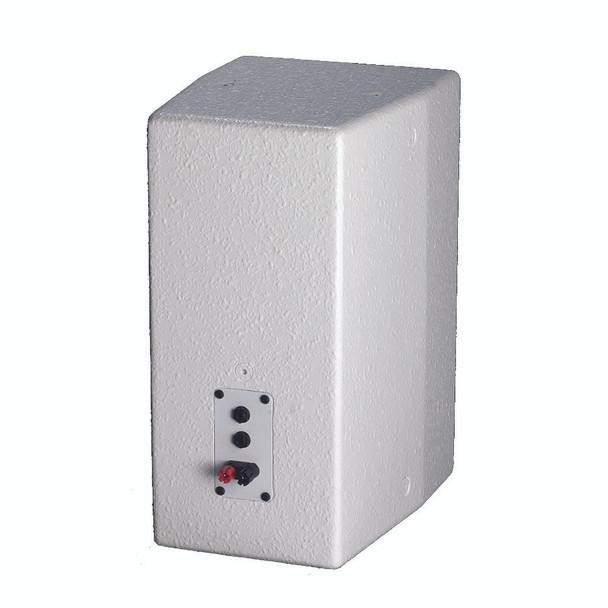 Yorkville C190W Coliseum Mini Series white 8 inch wall mount speaker back view
