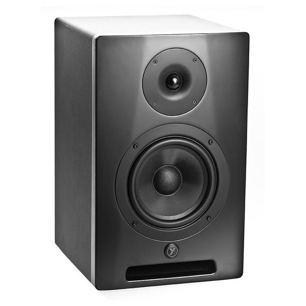 "YORKVILLE YSM6 Studio Monitor Series 68 Watt powered 6.5"" Speaker angled left"