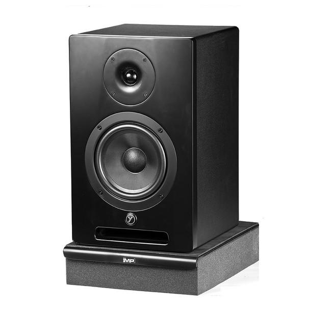 """YORKVILLE YSM6 Studio Monitor Series 68 Watt powered 6.5"""" Speaker on stand"""