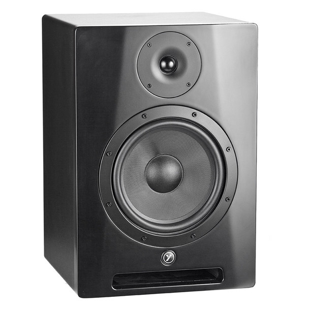 """YORKVILLE YSM8 Studio Monitor Series 95 Watt powered 8"""" Speaker Left View"""