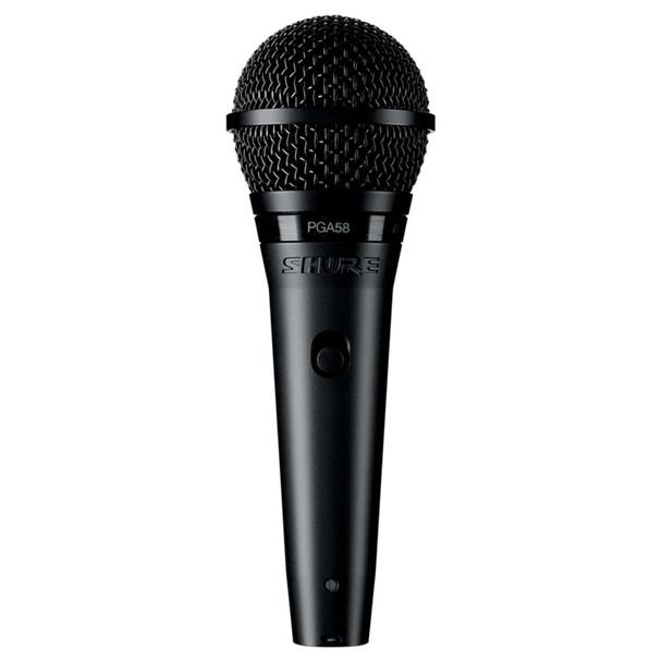 SHURE PGA58 Cardioid Dynamic Vocal Microphone. EMI Audio