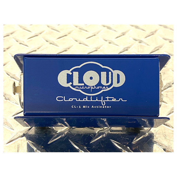 Cloudlifter CL-1 One Channel Mic Activator front view of logo
