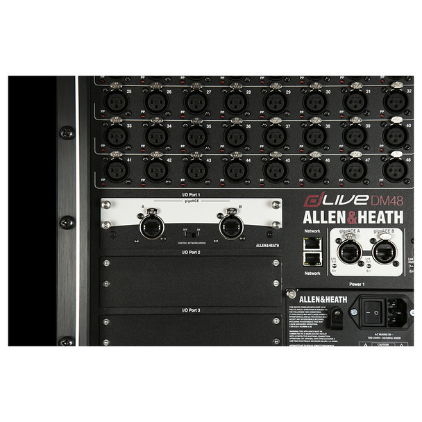 ALLEN & HEATH M-DL-GACE-A 128 x 128 96k gigaACE Card in stalled in mixer