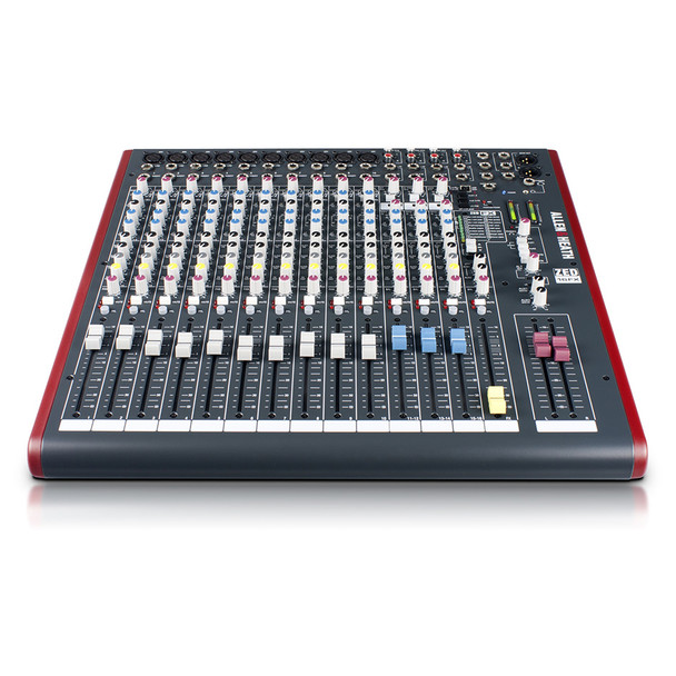ALLEN & HEATH ZED16FX 10 Mono Mic/Line mixer front view