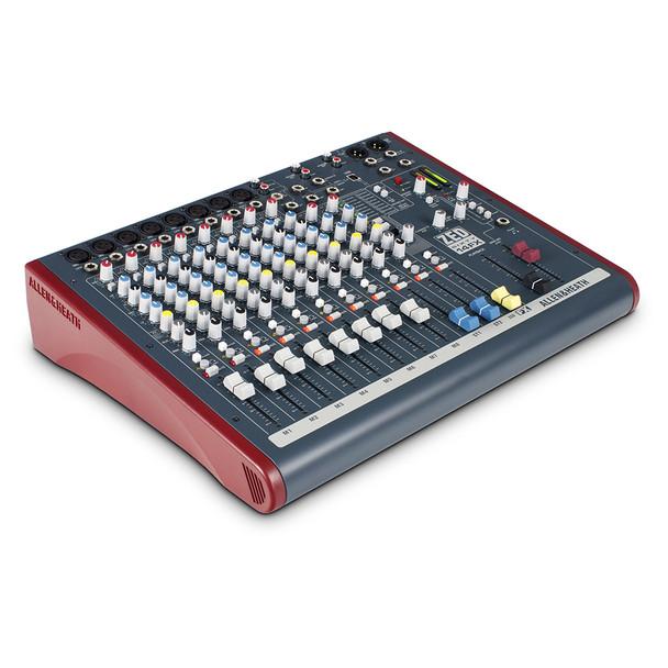 ALLEN & HEATH ZED60-14FX 8 Mono Mic/Line mixer angled view