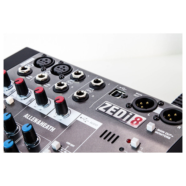 ALLEN & HEATH ZEDI8 2 Mic/Line mixer inputs