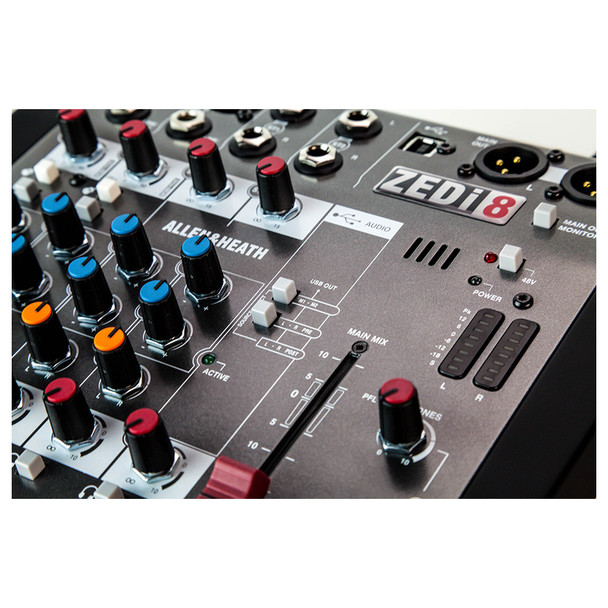 ALLEN & HEATH ZEDI8 2 Mic/Line mixer outputs