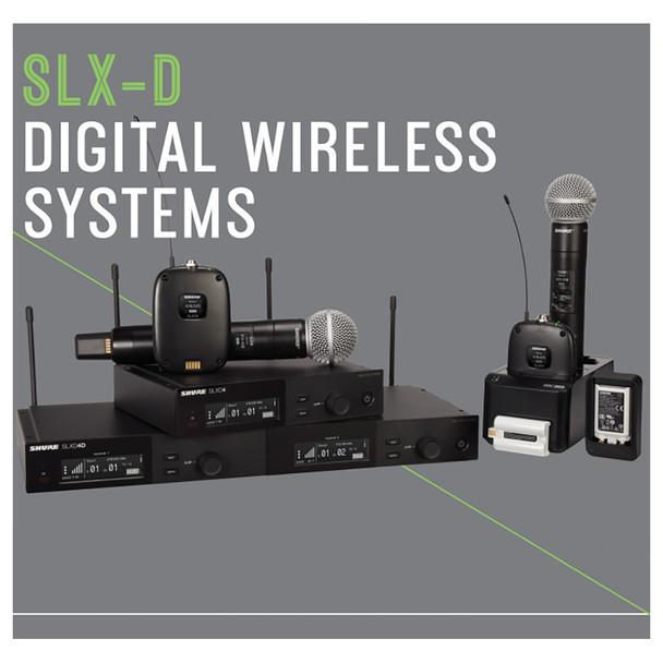 SLX-D DIGITAL WIRELESS SYSTEMS. EMI Audio
