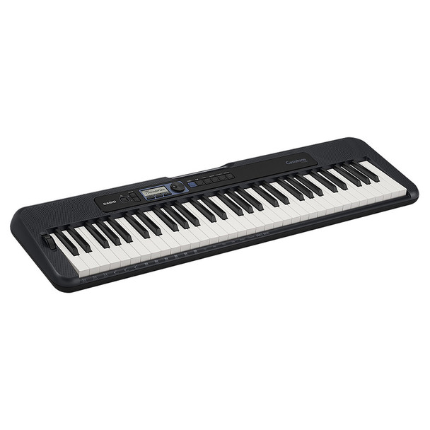 CASIO CT-S300 Casiotone Portable Keyboard angled view. EMI Audio