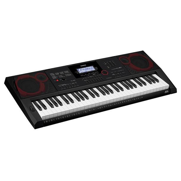 CASIO CT-X3000 Portable Keyboard angled view. EMI Audio