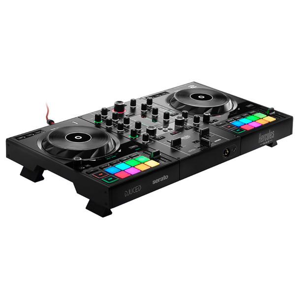 Hercules DJControl Inpulse 500 2-Channel DJ Controller front angle