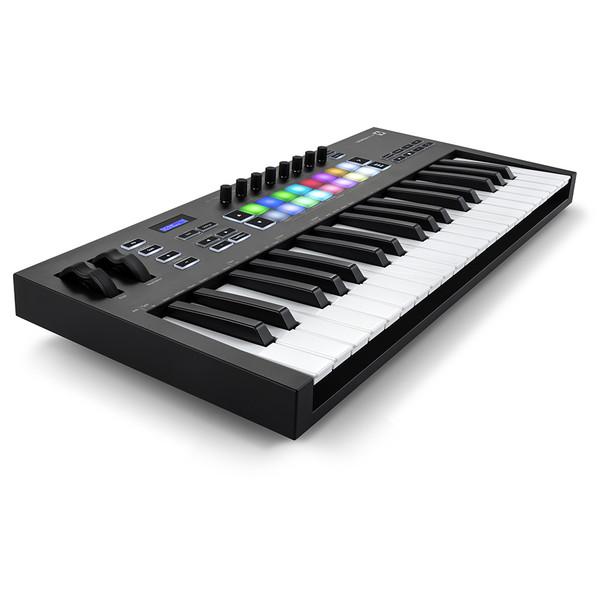 NOVATION Launchkey 37 [MK3] MIDI Keyboard Controller front left angle