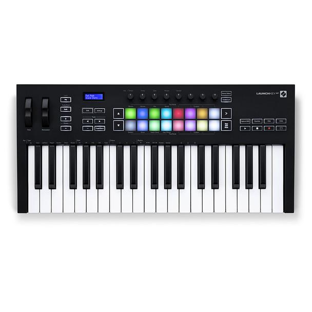 NOVATION Launchkey 37 [MK3] MIDI Keyboard Controller top view