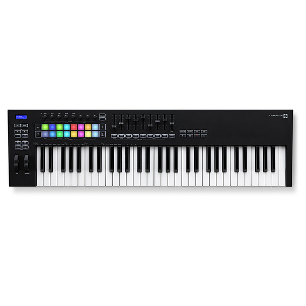NOVATION Launchkey 61 [MK3] MIDI Keyboard Controller top view