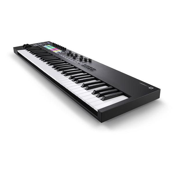 NOVATION Launchkey 61 [MK3] MIDI Keyboard Controller front right angle