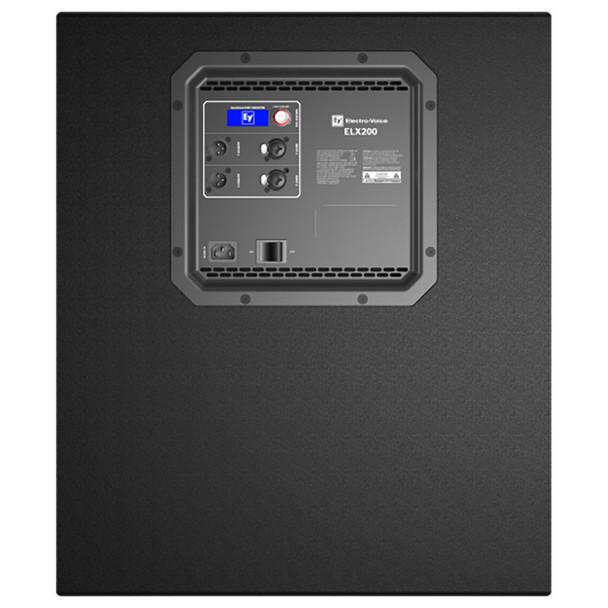 "Electro-Voice ELX200-18SP-US 18"" powered subwoofer back"