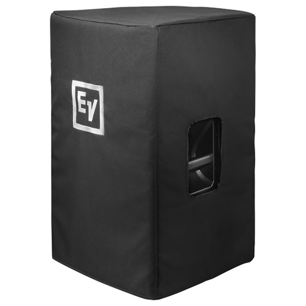"""Electro-Voice EKX-12P Powered 12"""" 2-Way Speaker with case front side view"""