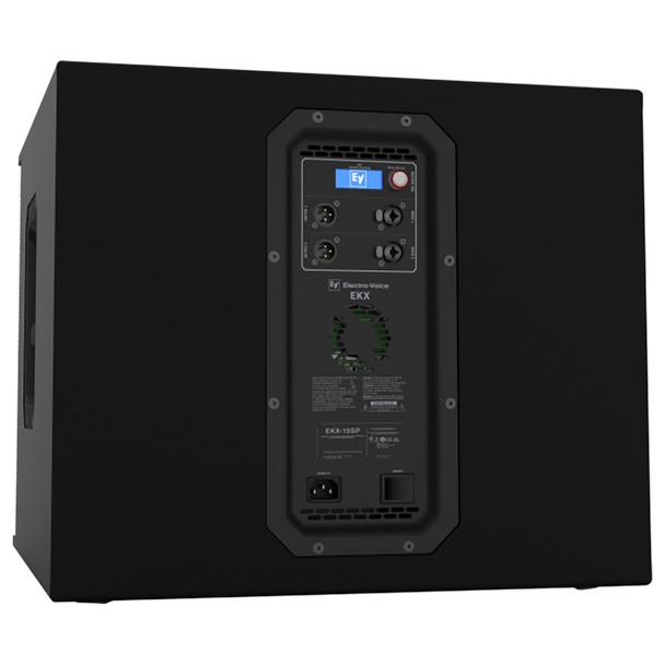 "Electro-Voice EKX-15SP Powered 15"" Subwoofer back side"