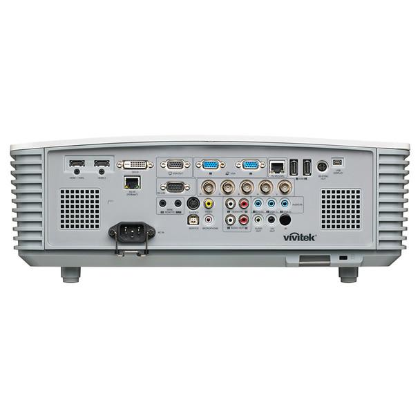 VIVITEK DH3331 5500 Lumen 1080P Projector with Horizontal and Vertical lens shift, BACK