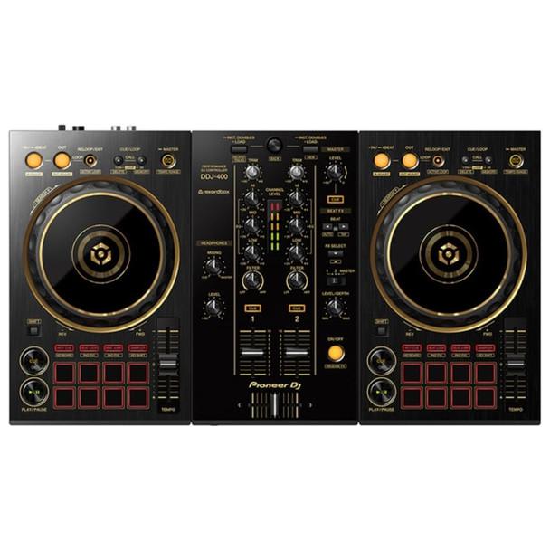 PIONEER DDJ-400-N/PXJ GOLD 2-Channel Limited Edition Rekordbox DJ Controller Front