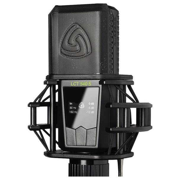 LEWITT LCT 540 SUBZERO Large Diaphragm Condenser Microphone w/ Sub-Zero Self-Noise - mic with pop filter