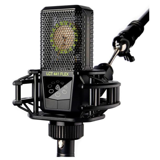 LEWITT LCT 441 FLEX Multi-Pattern Large-Diaphragm Condenser Microphone - Mic w/ Shockmount