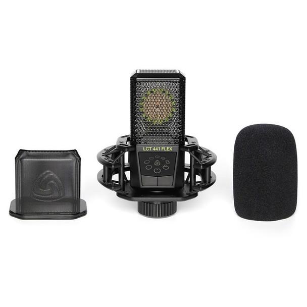 LEWITT LCT 441 FLEX Multi-Pattern Large-Diaphragm Condenser Microphone - Mic w/ Pop Filter and Windscreen