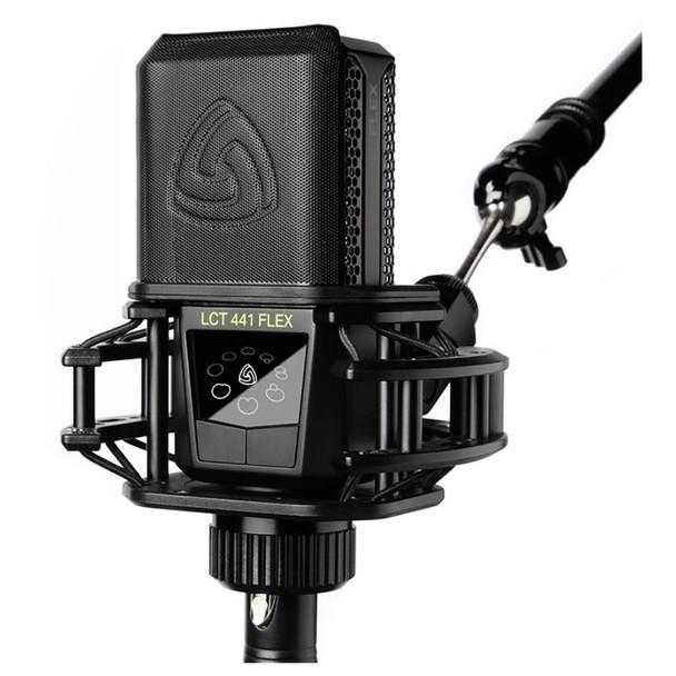 LEWITT LCT 441 FLEX Multi-Pattern Large-Diaphragm Condenser Microphone - Mic w/ Pop Filter