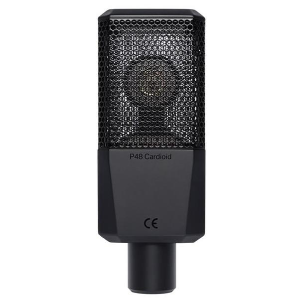 LEWITT LCT 240 PRO Condenser Microphone - Black - Back