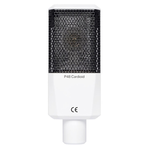 LEWITT LCT 240 PRO Condenser Microphone - White - Back