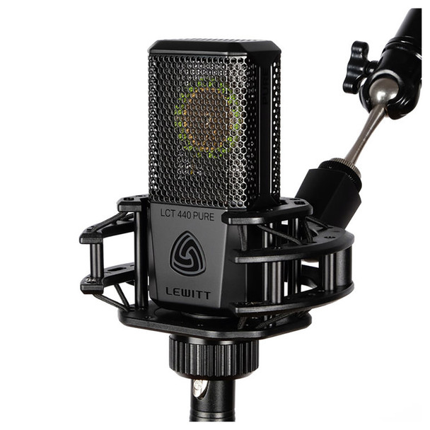 LEWITT LCT 440 PURE Large-Diapragm Condenser Microphone - Mic w/ Shockmount