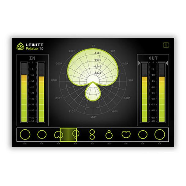 LEWITT LCT 640 TS Multi-Pattern Large-Diaphragm Condenser Microphone w/ Shockmount - POLARIZER plugin