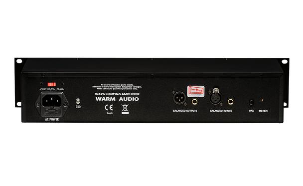 WARM AUDIO WA76 Discrete FET Compressor - Rear