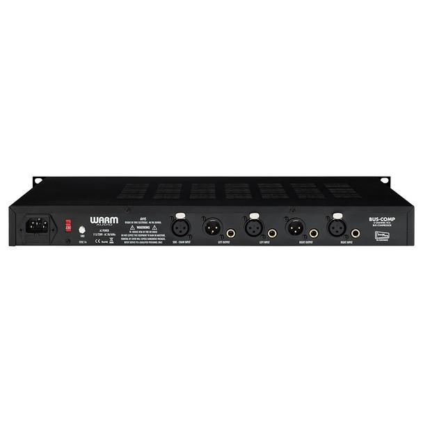 WARM AUDIO BUS-COMP 2 Channel VCA Bus Compressor - Rear