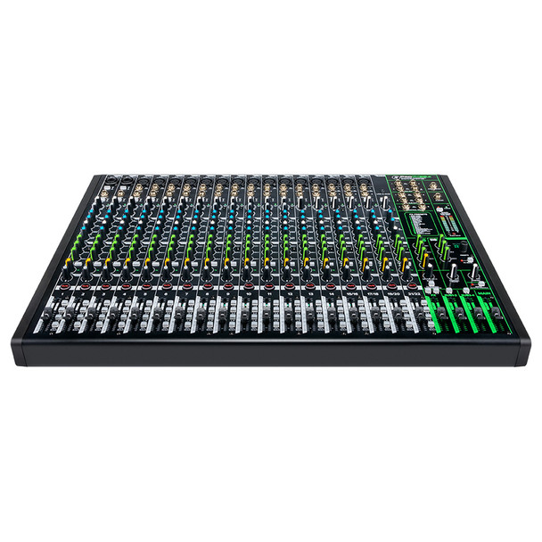 MACKIE ProFX22v3 22 Channel 4-bus Professional Effects Mixer with USB front view