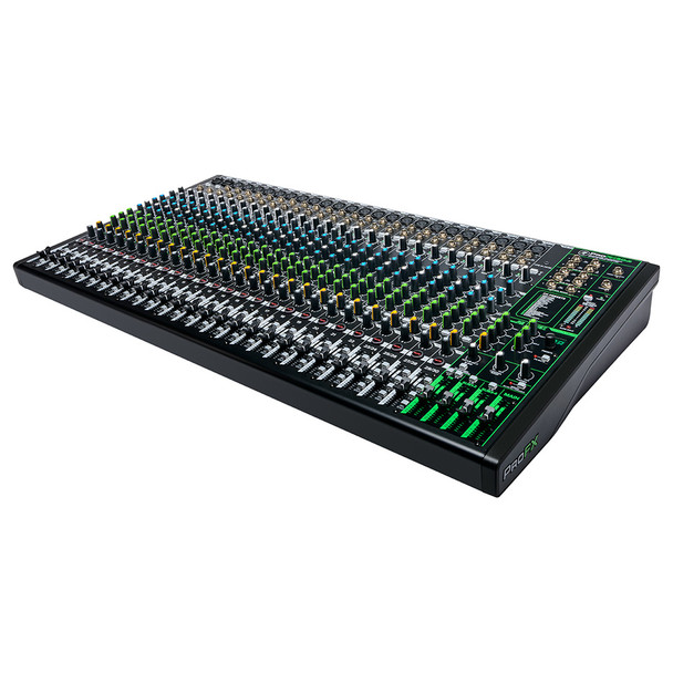 MACKIE ProFX30v3 30 Channel 4-bus Professional Effects Mixer with USB right angle