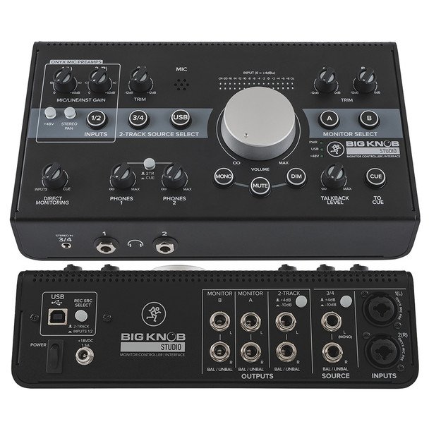 MACKIE Big Knob Studio Monitor controller/interface