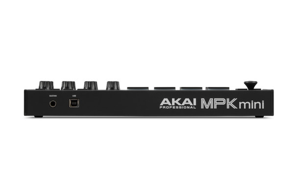 AKAI MPK Mini Mk3 BLACK SE back view