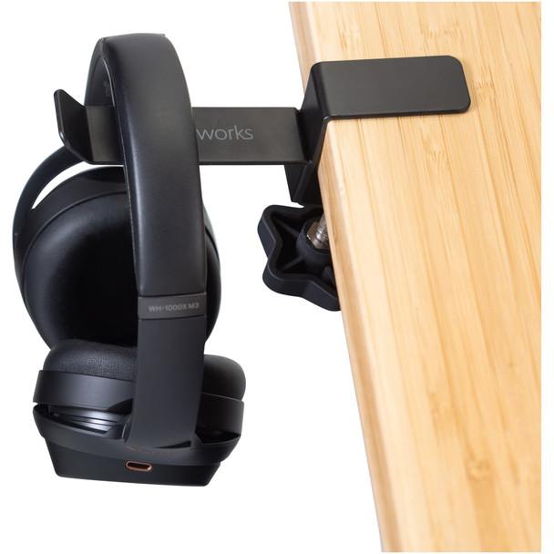 Gator Frameworks GFW-HP-HANGERDESK Headphone Hanger For Desks