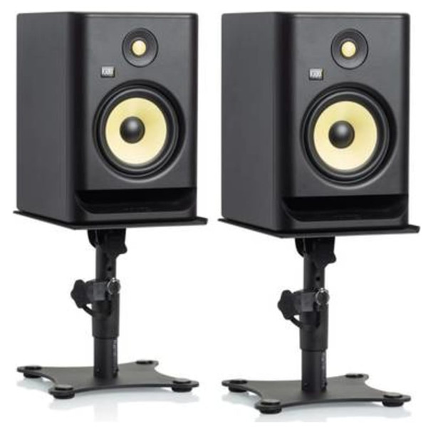 gator-gfw-spkstmndsk-studio-monitor-stands-monitor-on-stand-view