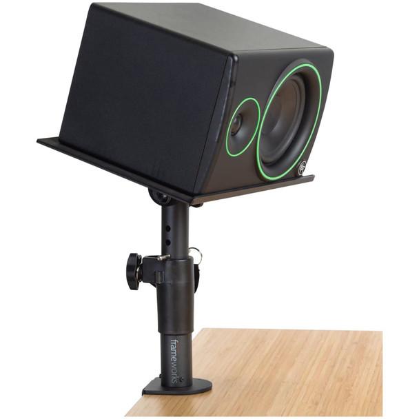 gator-frameworks-clamp-on-studio-monitor-stand-with-horizontal-monitor-downward-slant