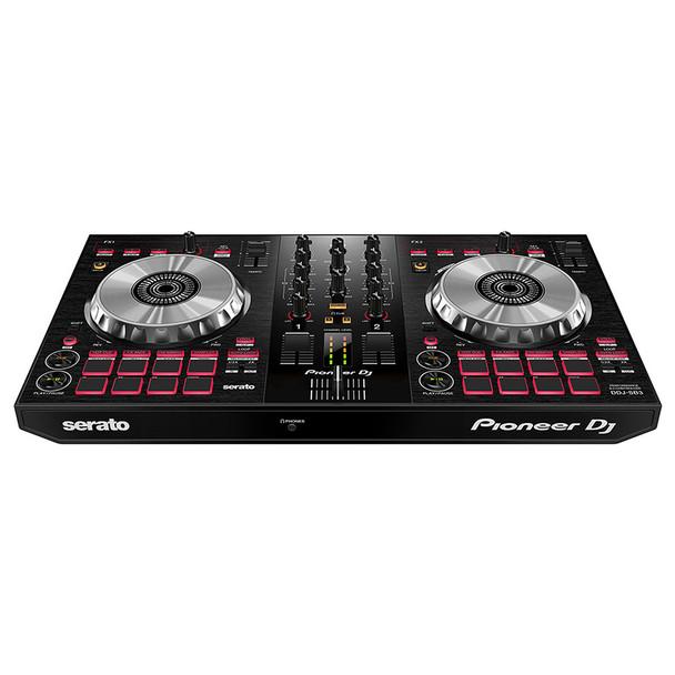 PIONEER DJ DDJ-SB3 DJ Controller front view. EMI Audio