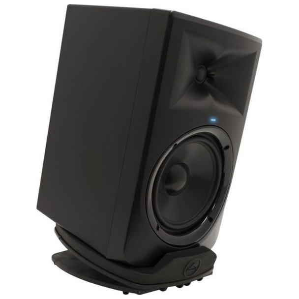 ultimate-support-ms-80-studio-monitor-stand-with-monitor-downward-facing monitor not included