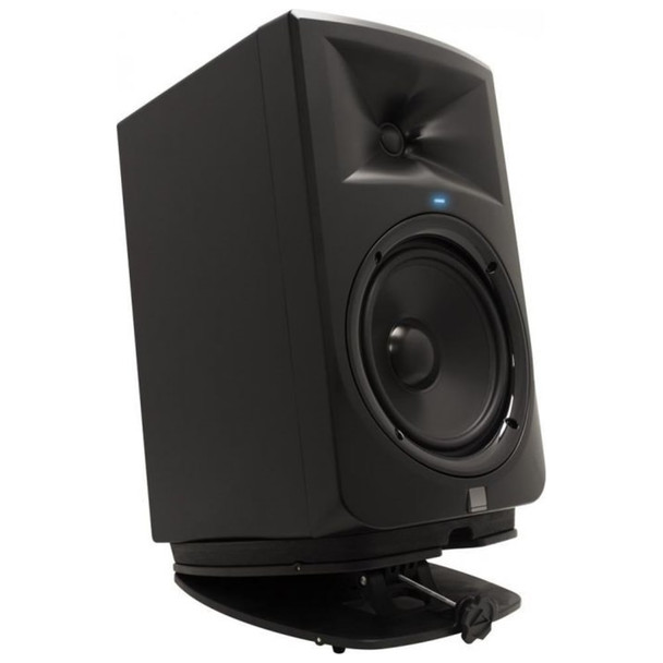 ultimate-support-ms-80-studio-monitor-stand-with-monitor-upward-facing