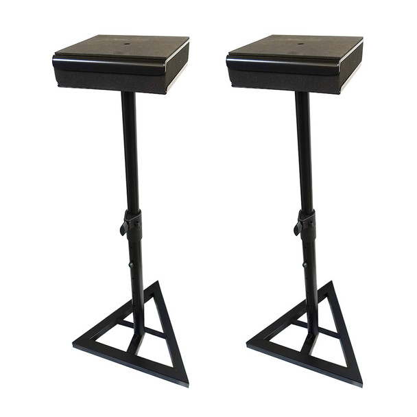 """YORKVILLE SKS-41MP Studio Monitor Stand with Recoil Stabilizer, Adjustable to 40"""" Height pair. EMI Audio"""