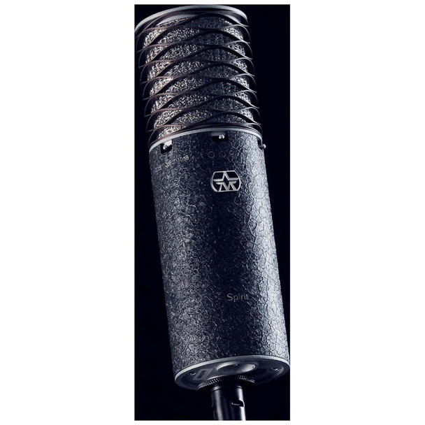 aston-spirit-black-bundle-switchable-pattern-studio-condenser-mic-with-shock-mount-and-pop-filter-angle-view