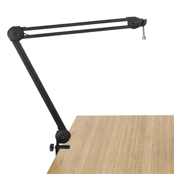 gator gfwmicbcbm2000 desk boom arm with integrated cable for podcasts desk view. EMI Audio