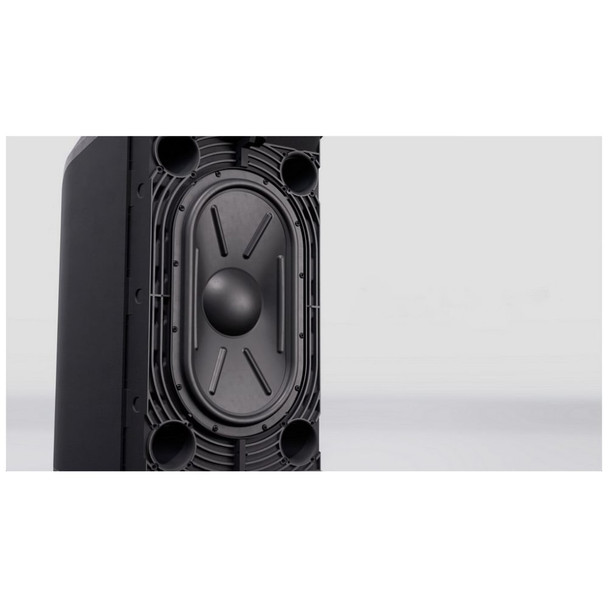 L1 Pro 8 Portable C shaped line array with app control woofer spotlight view